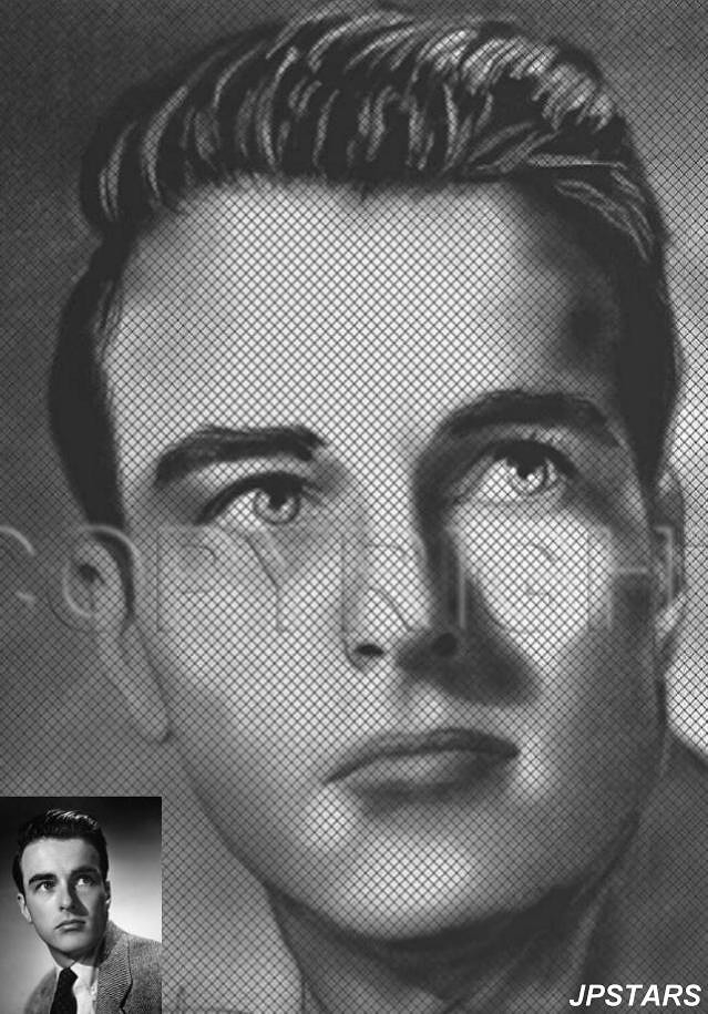 Montgomery Clift by JPSTARS
